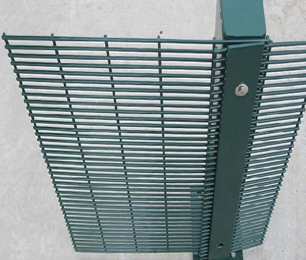 High Security Anti-Climb 358 Mesh Panels, Posts and Razor Wire Tops