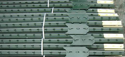 T post for Galvanized Wire Mesh Fences