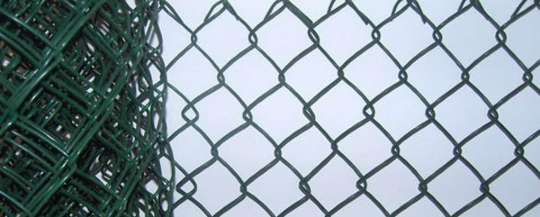 Rhombic Mesh Temporary Fence Extruded with Knuckle Ends for Security Fencing Uses