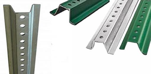 U Posts Hot Dip Galvanized Steel And Epoxy Coated Anti