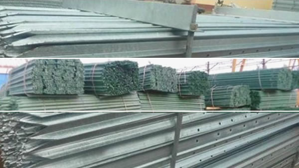 Galvanized Star Fence Post for Australian Field Fencing Wire Fastening